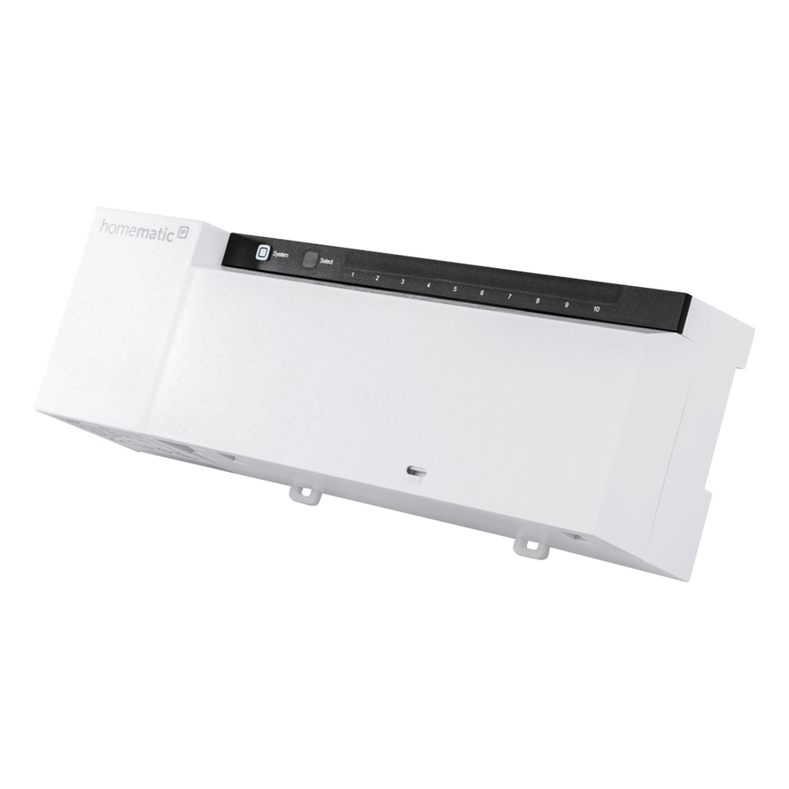 Homematic IP Fußbodenheizungsaktor, 10-fach, 230 V