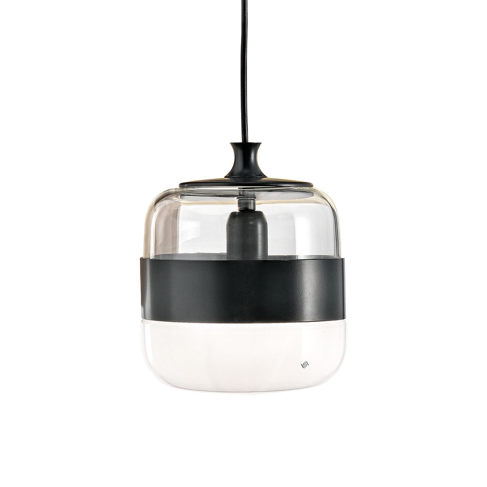 Lampa wisząca Futura ze szkła Murano, 20 cm