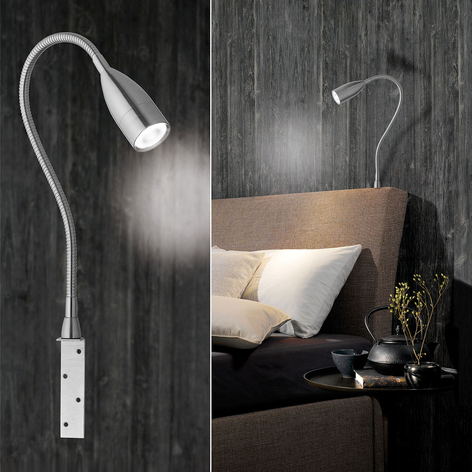 Med gester dimbar LED-vägglampa Sten