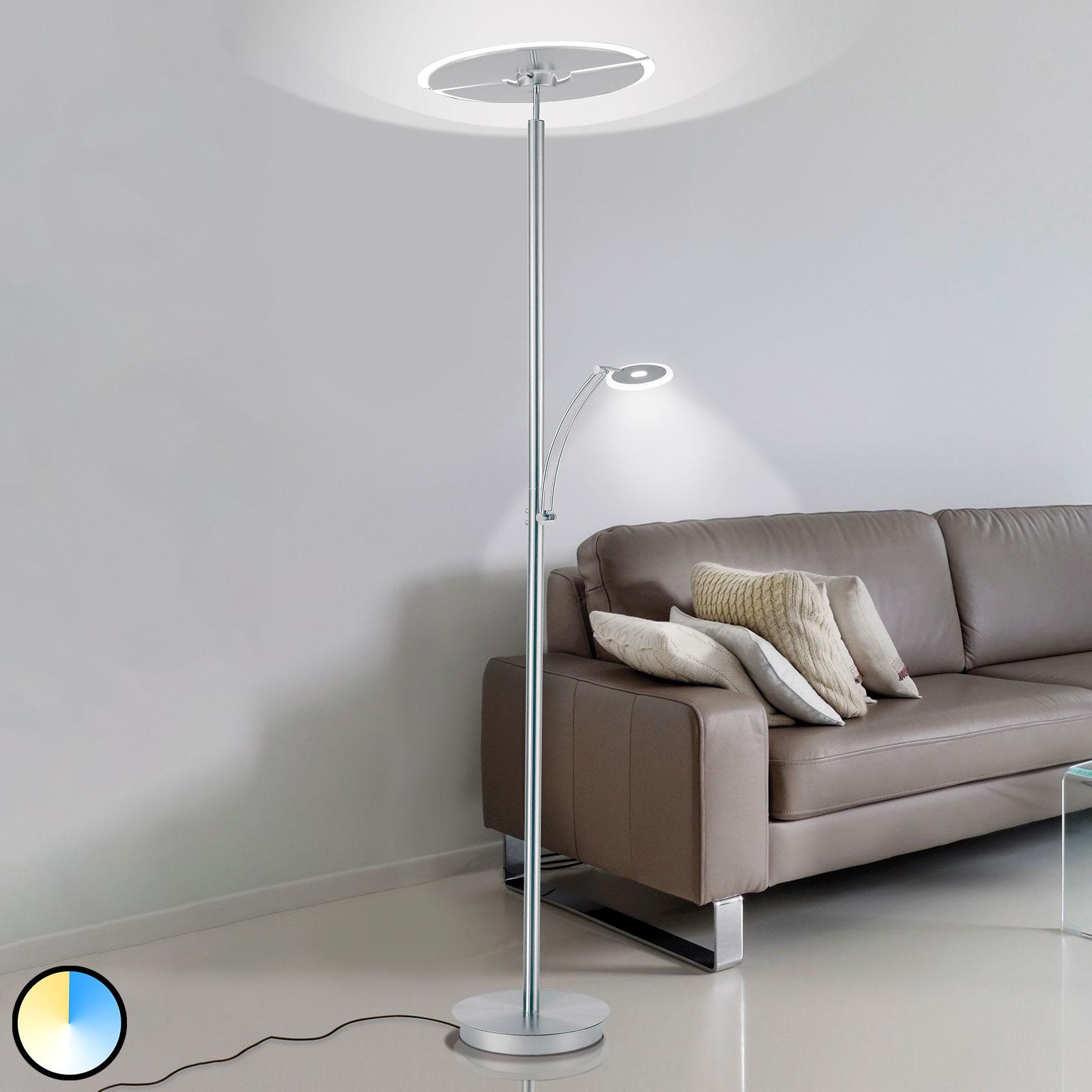 Paul Neuhaus Artur lampa stojąca LED CCT stal
