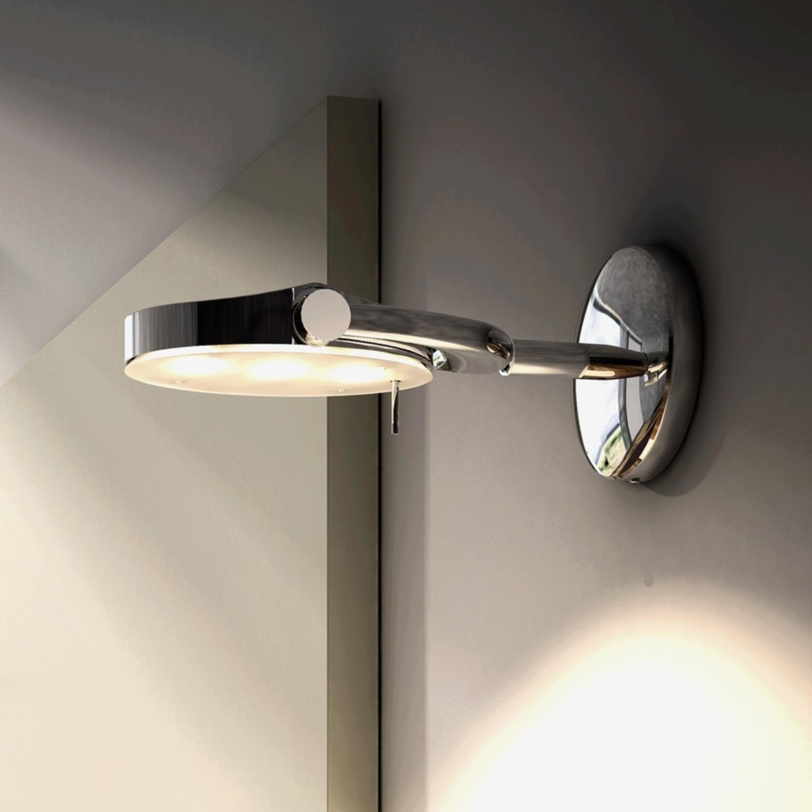 Regulowana lampa ścienna LED PERCEVAL, mała