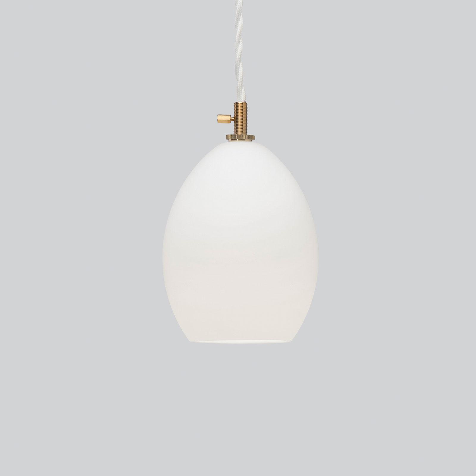 Northern Unika glas-hanglamp wit, small