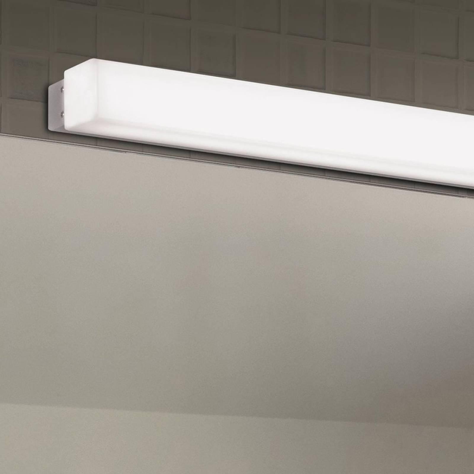 LED badkamer wandlamp box, 3.000 K, breedte 59 cm