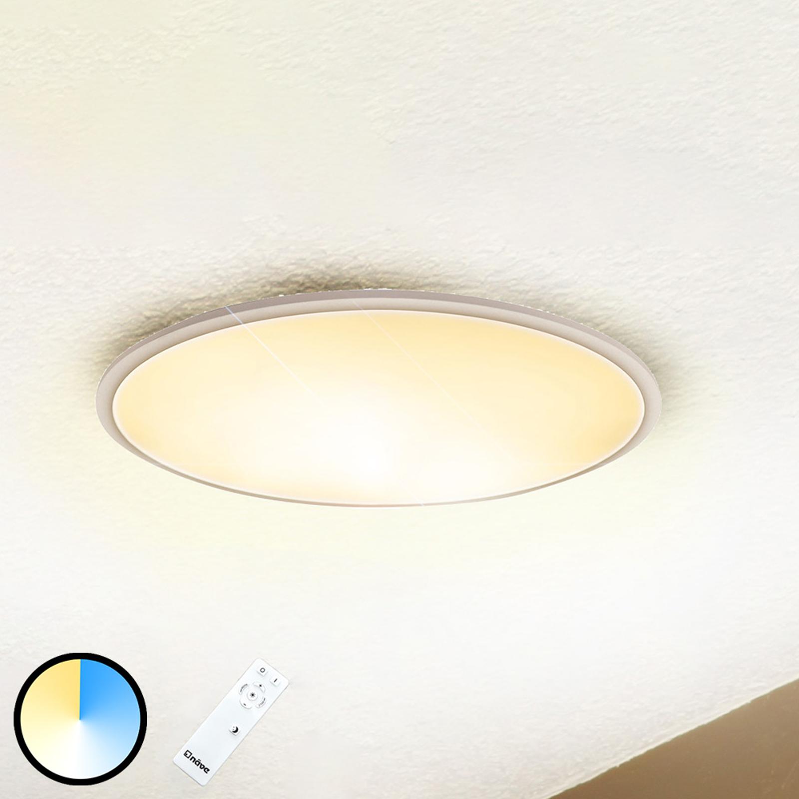 Sorrent LED-taklampe oval 60 cm x 30 cm