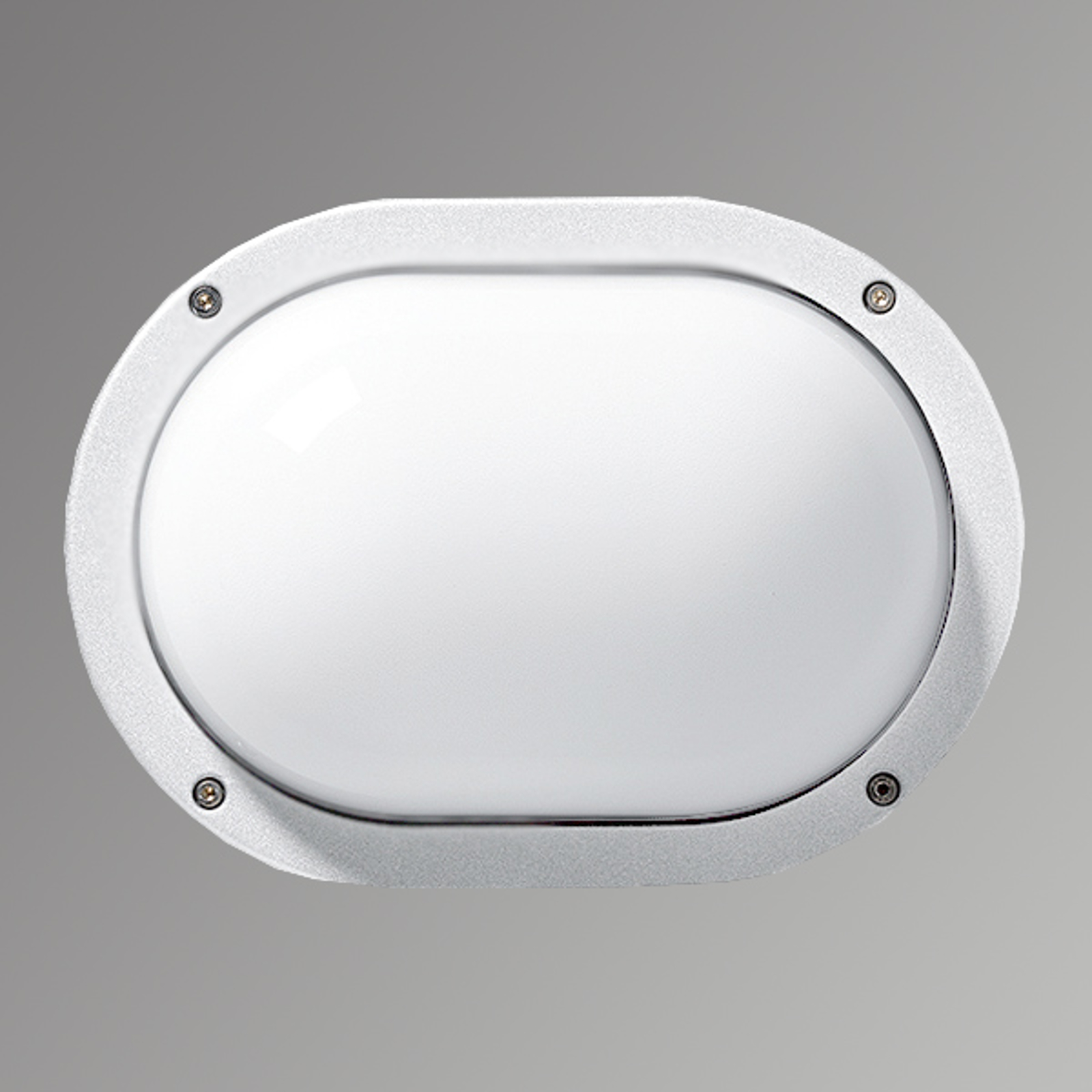 Praktische buitenwandlamp EKO, wit