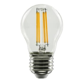 SEGULA LED lamp E27 G45 827 filament helder