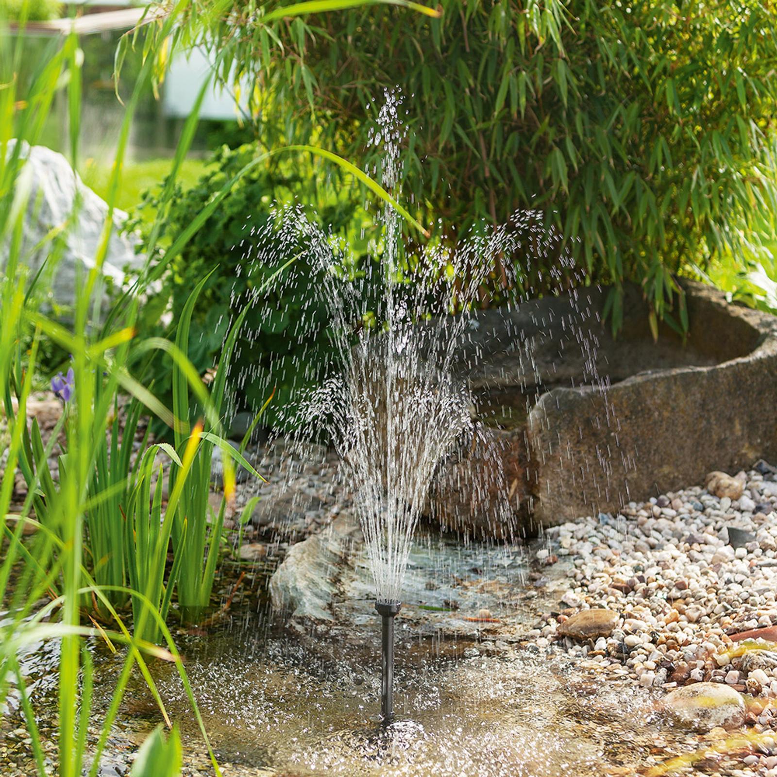 Solc. pumpesys. Water Splash 10/610 med lang levet