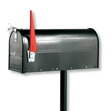 893 S -tukipylväs U.S. Mailbox -postilaatikolle