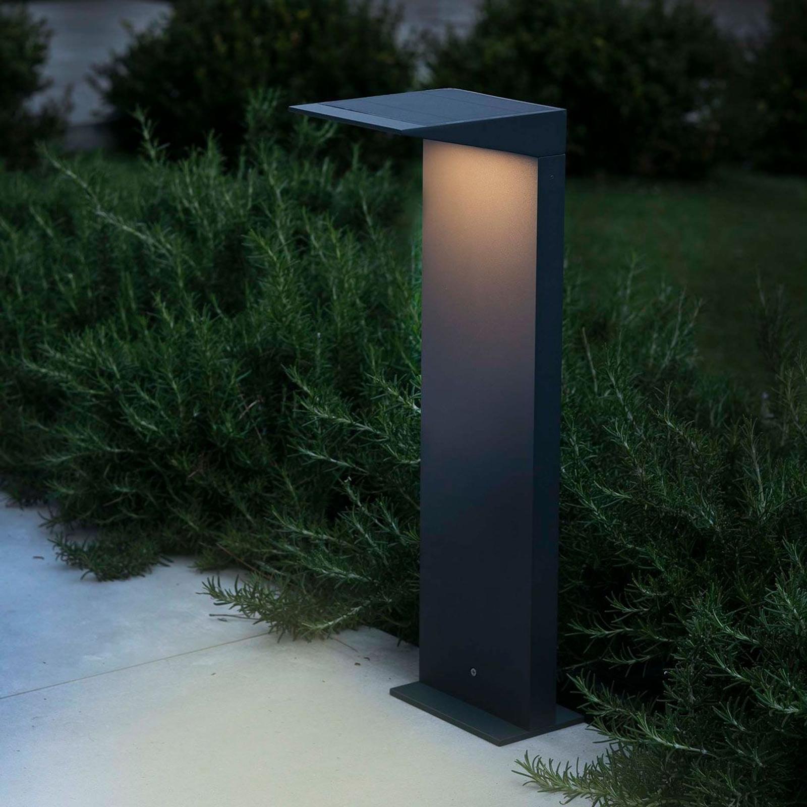 Soleil sol- og veilampe med skumringssensor