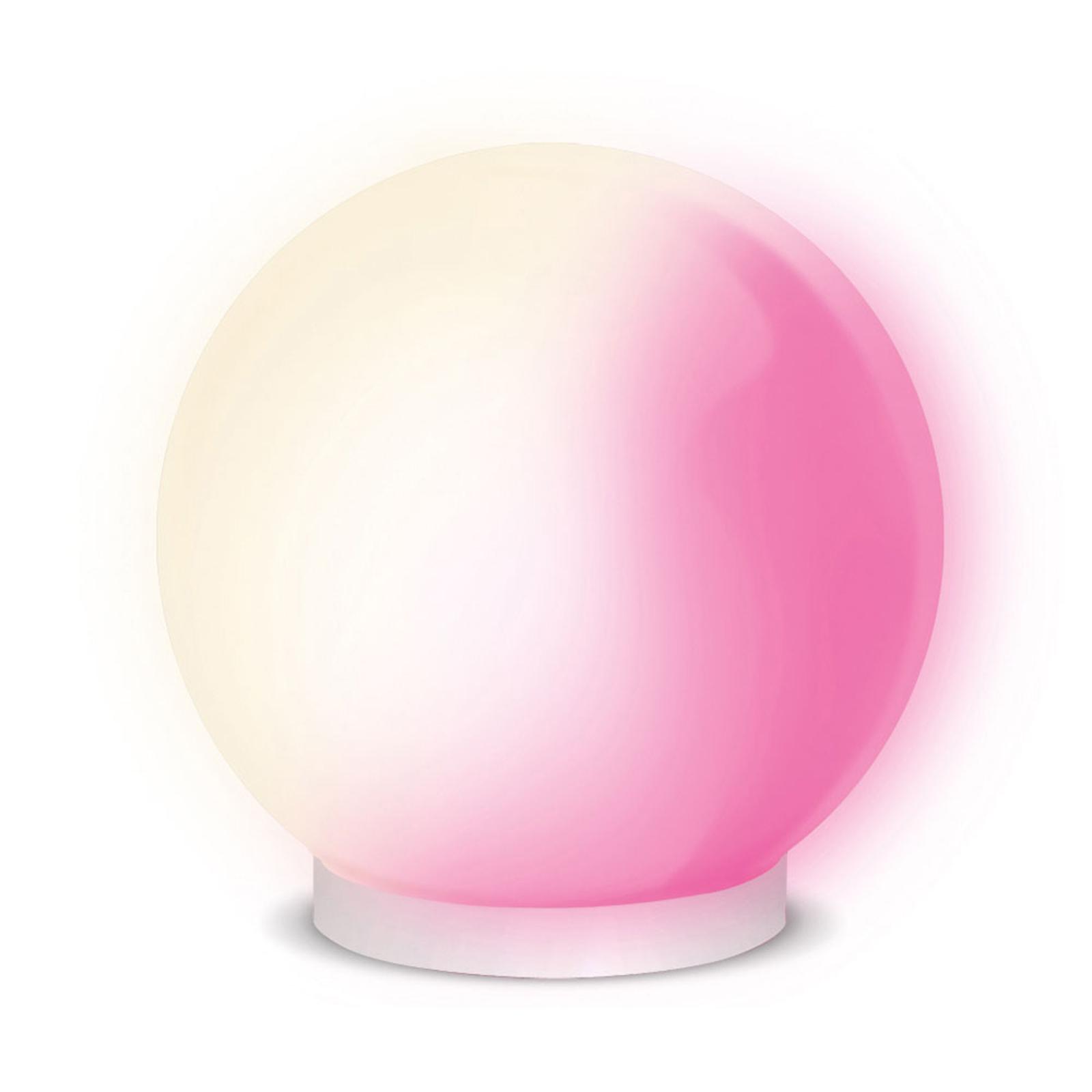 iDual Glam III lampe à poser LED avec télécommande