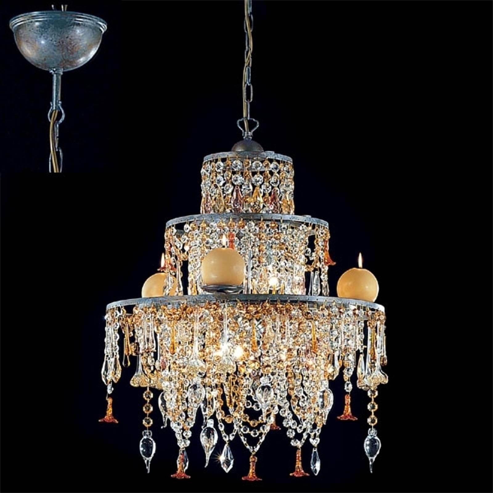 Suspension chandelier GOLDEN DREAM