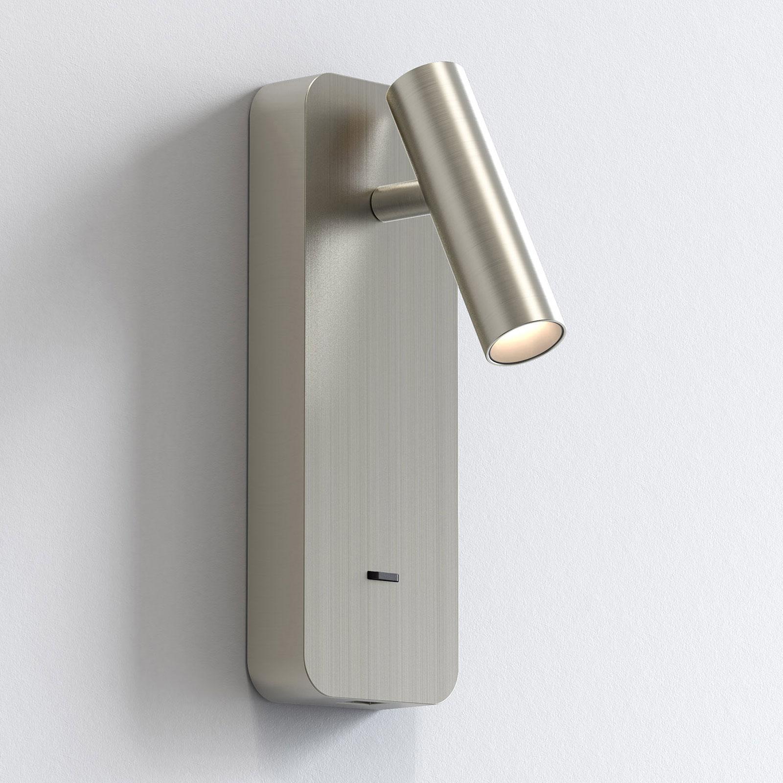 Astro Enna Surface USB LED wandlamp, nikkel