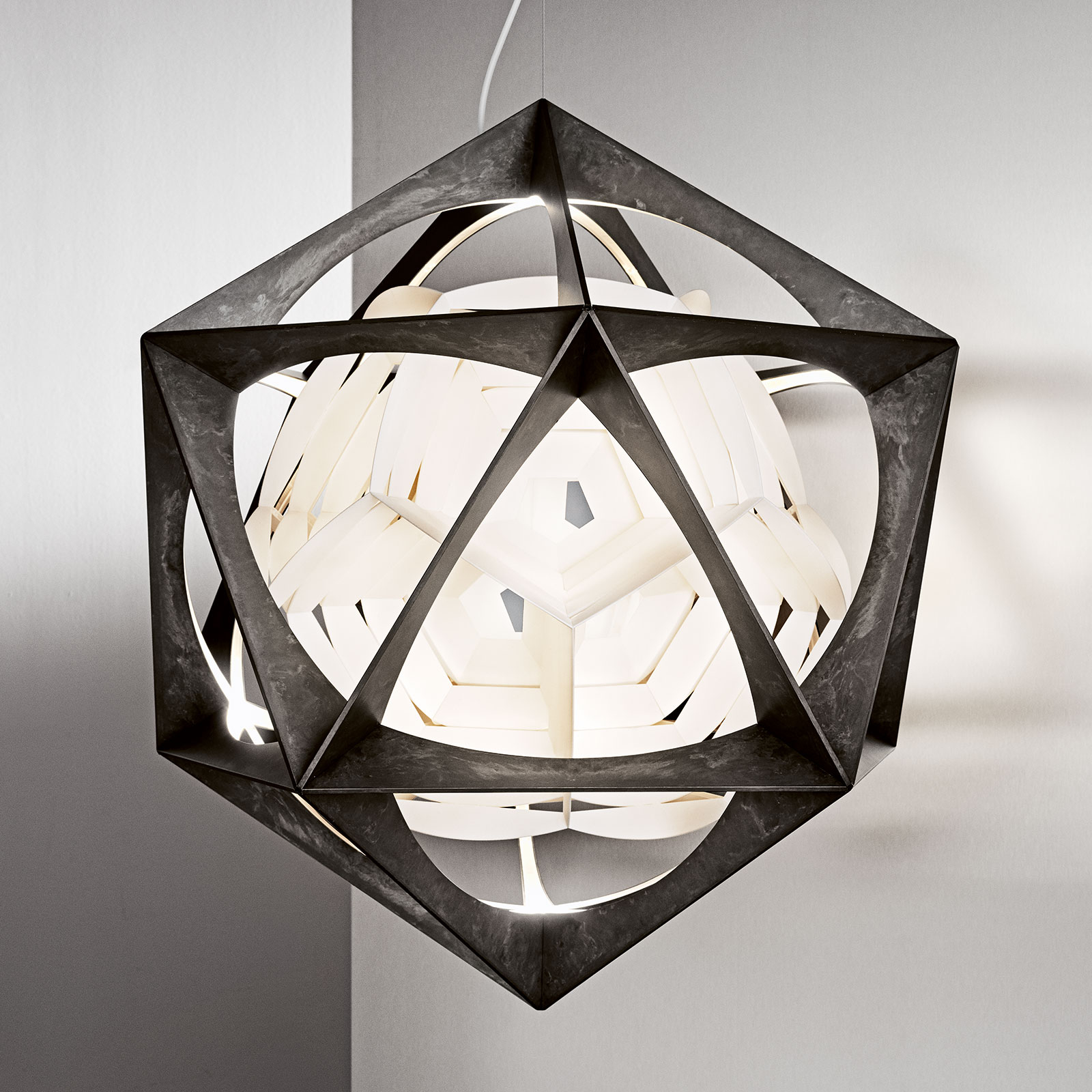 Louis Poulsen LED-Pendelleuchte OE Quasi, 3.000 K
