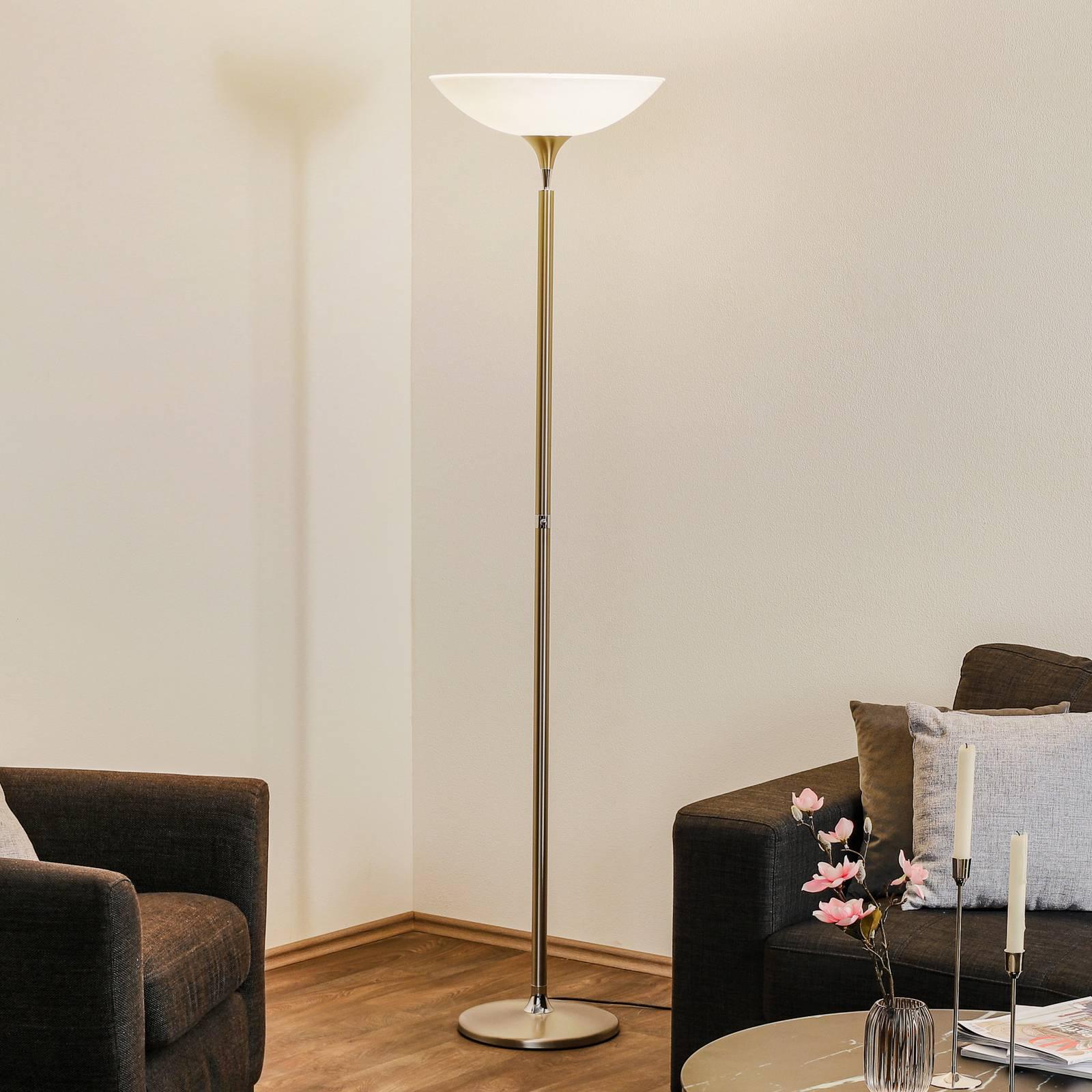 BANKAMP Opera LED uplighter tastdimmer, nikkel