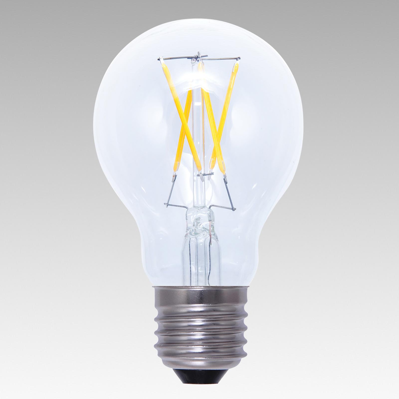 E27 4W 926 LED-Glühlampe dimmbar klar warmweiß