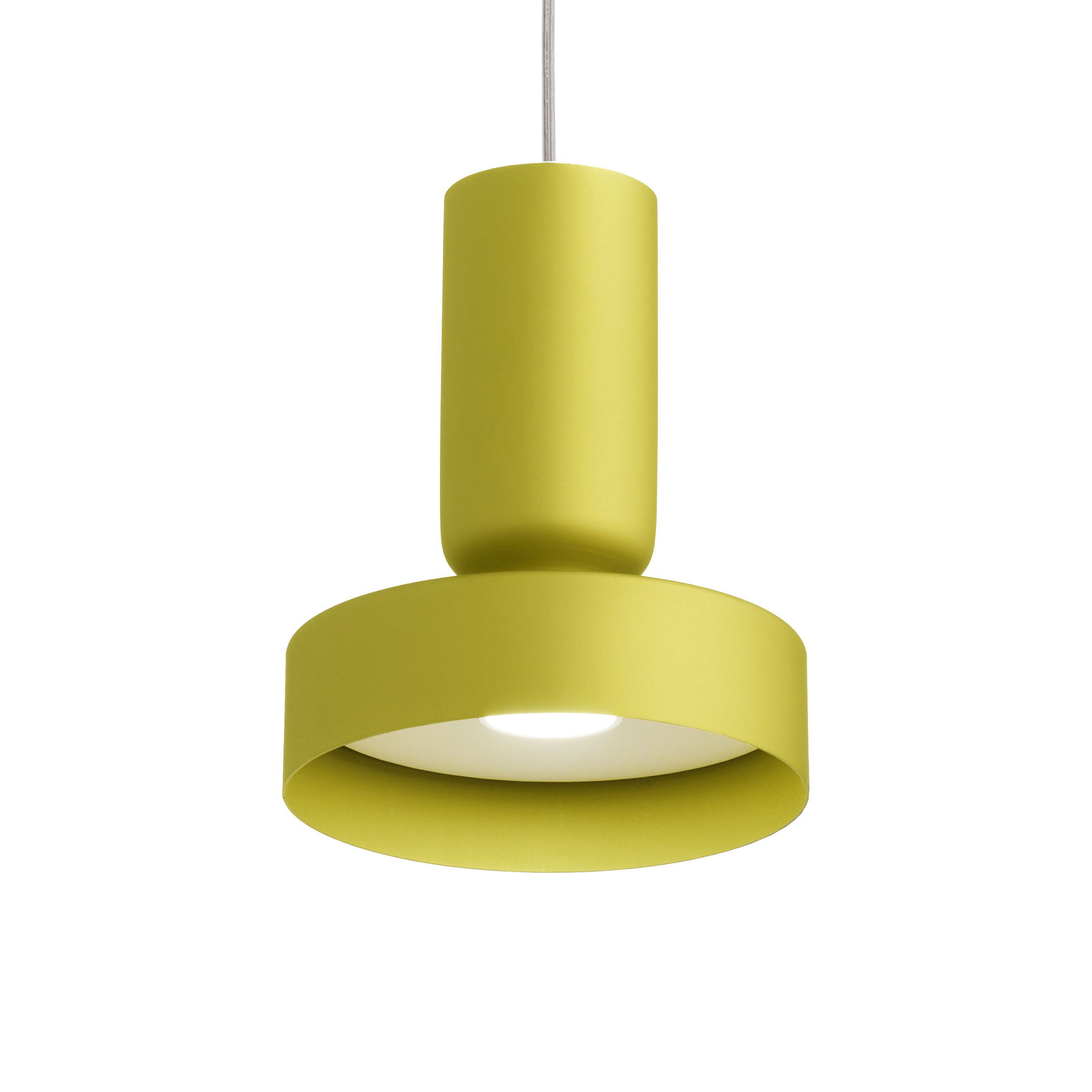 Modo Luce Hammer lampa wisząca Ø 15 cm limonka