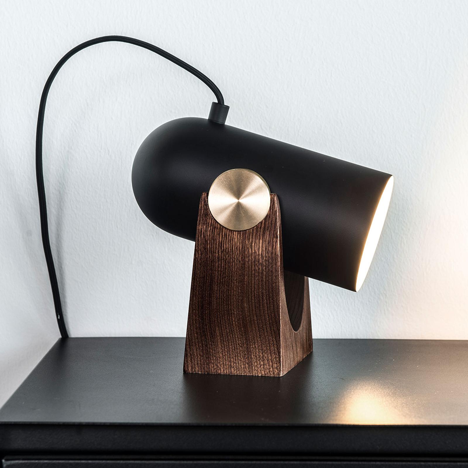 LE KLINT Carronade - lampe à poser noire