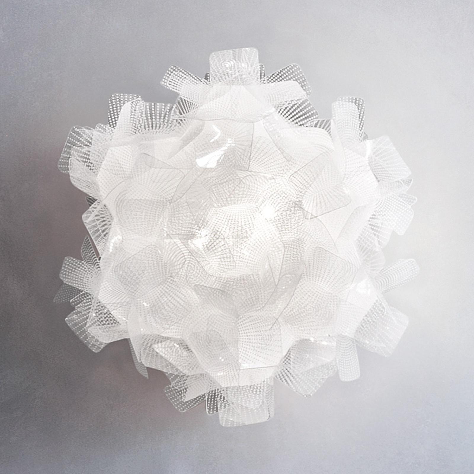 Slamp Clizia Pixel nástěnné světlo Ø 32 cm