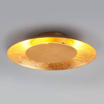 LED-Deckenleuchte Keti in Goldoptik, Ø 34,5 cm