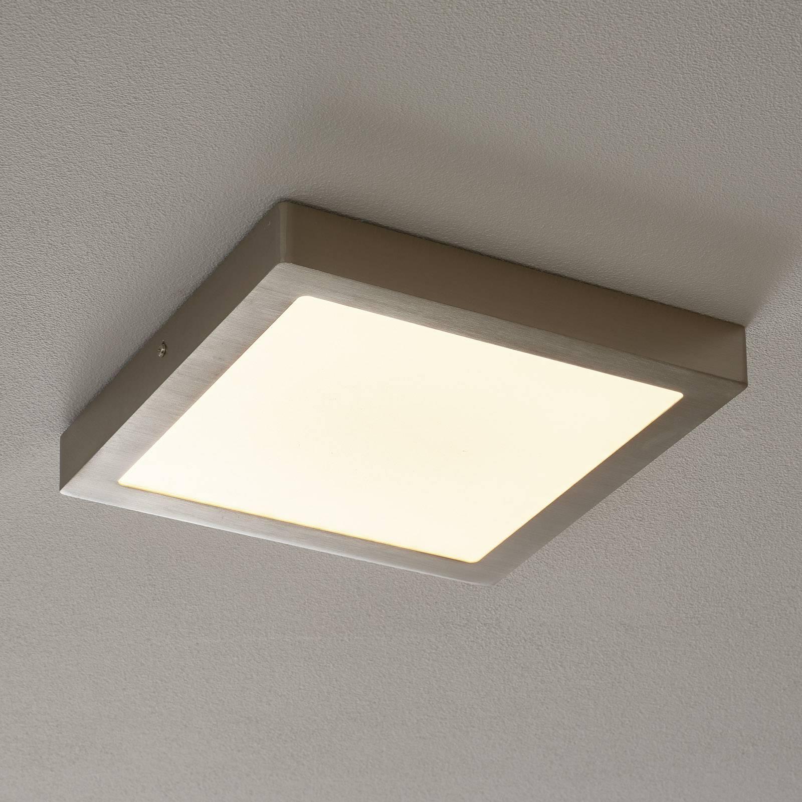 EGLO connect Fueva-C LED plafondlamp 30cm nikkel