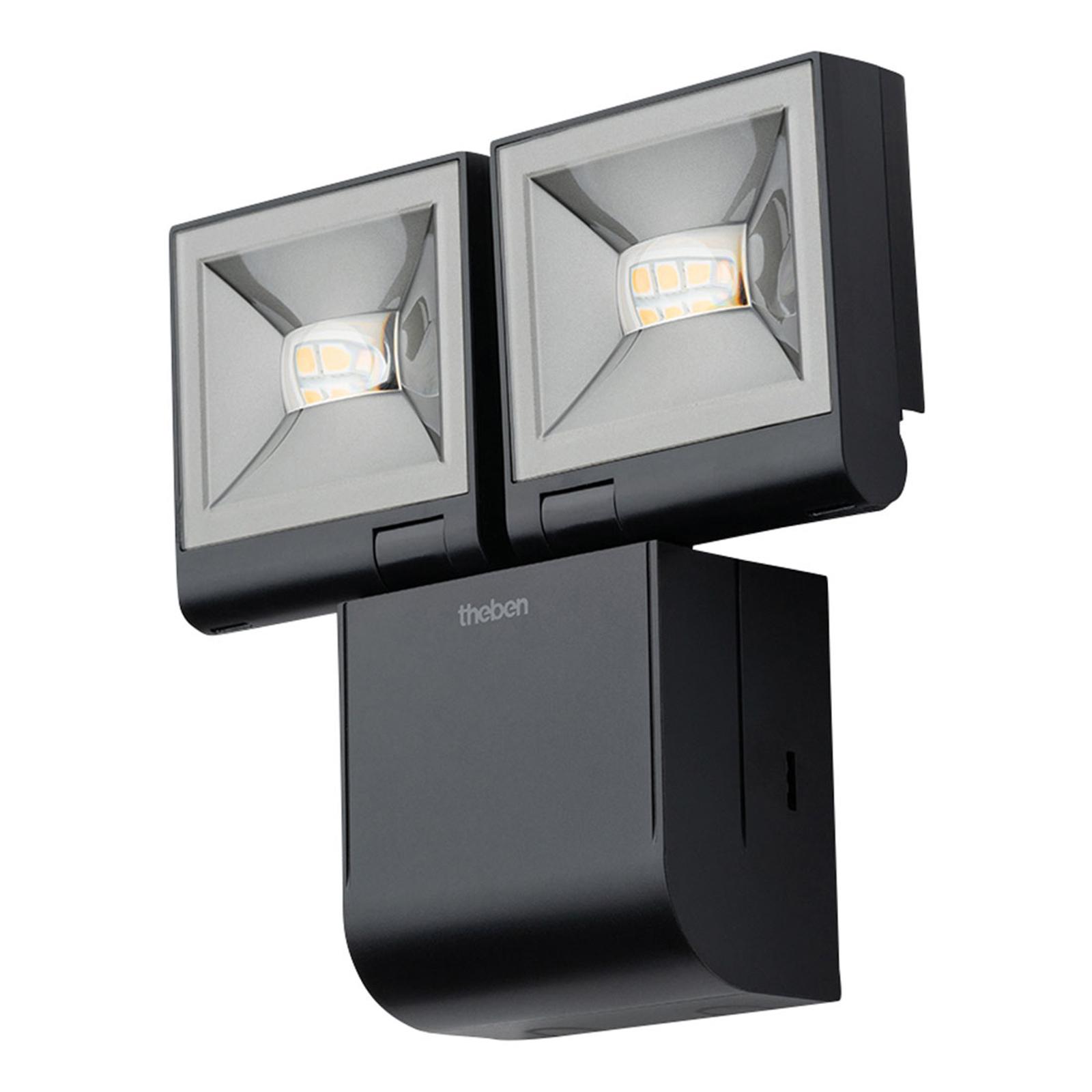 Theben theLeda S20L spotti, 2-lamppuinen musta