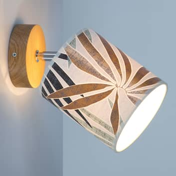 Applique Jaro con stampa, 1 luce Ø 13 cm