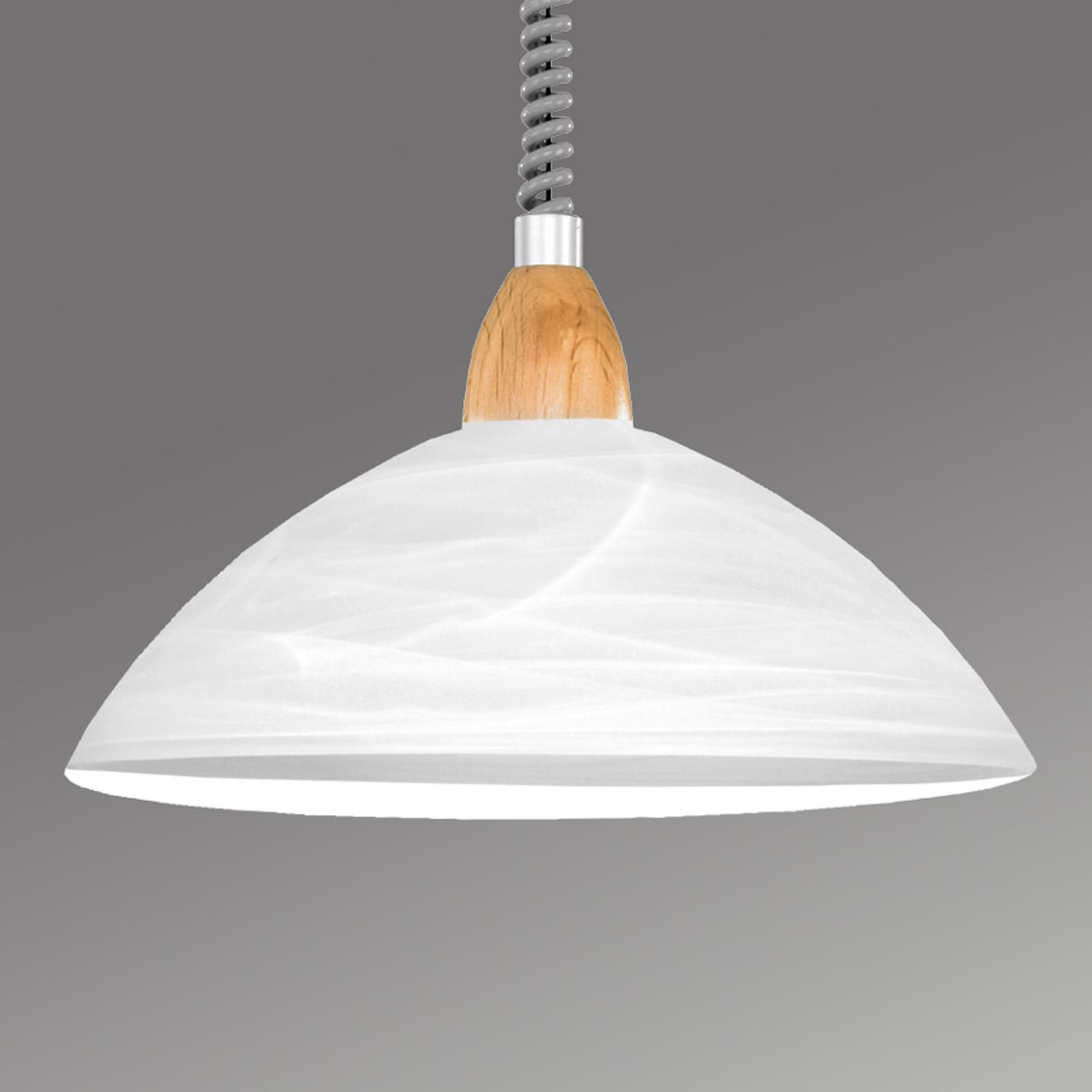 Hanglamp Lara 2 beuken