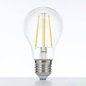 LED-Lampe E27 10W 2.700K Filament klar dimmbar