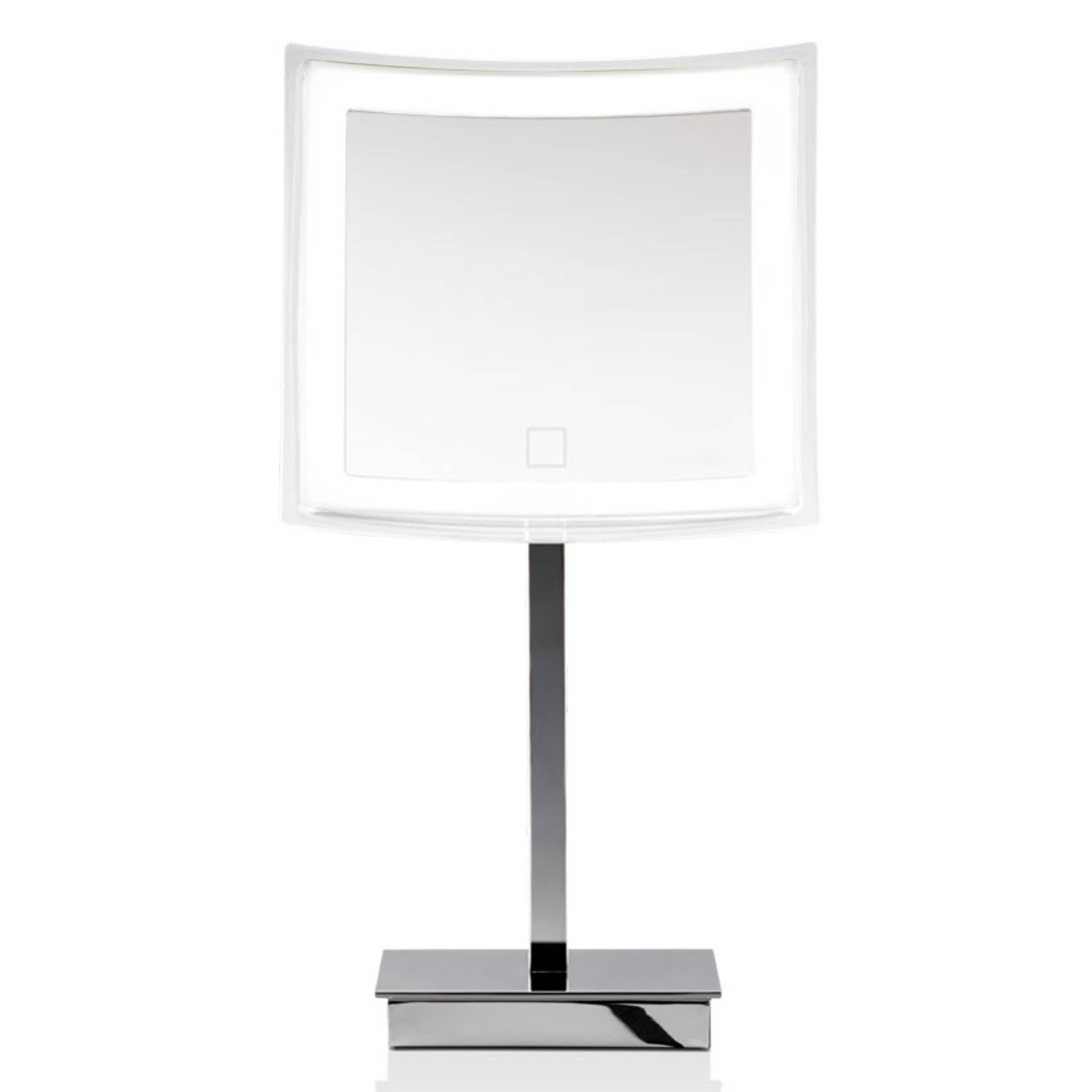 Decor Walther BS 83 Touch LED table mirror angular
