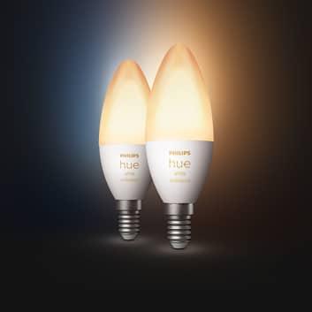 Philips Hue kronljus White Ambiance 2 x E14 5,2 W