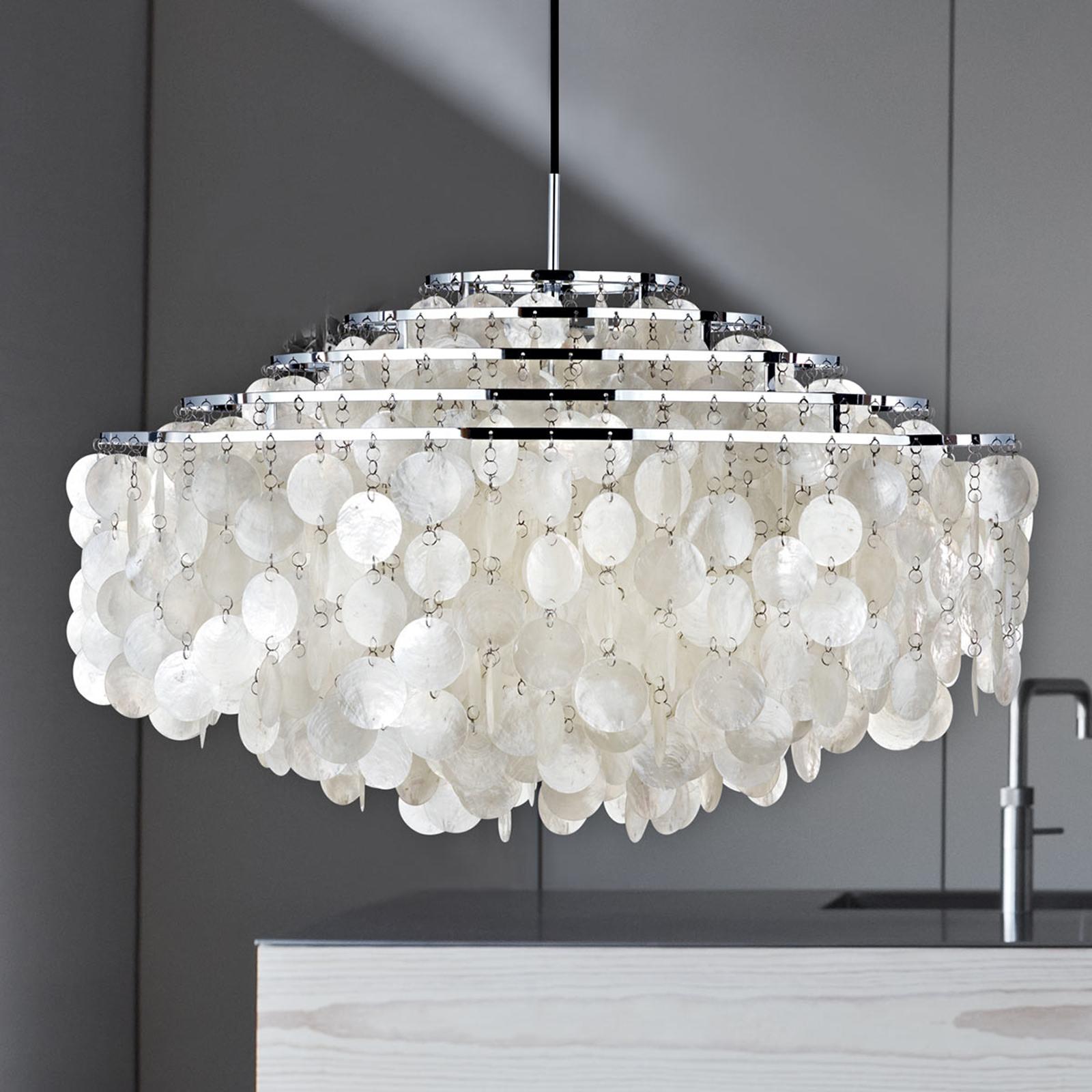VERPAN Fun 11DM - lampa wisząca z płytek muszli