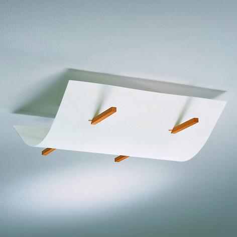 Lámpara de techo FOLIO de diseño arqueado