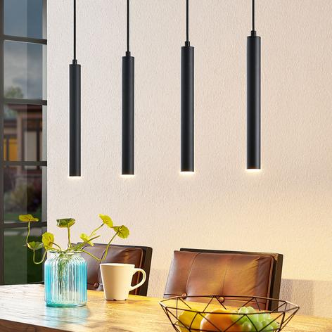 Arcchio Kammeron LED hanglamp, zwart