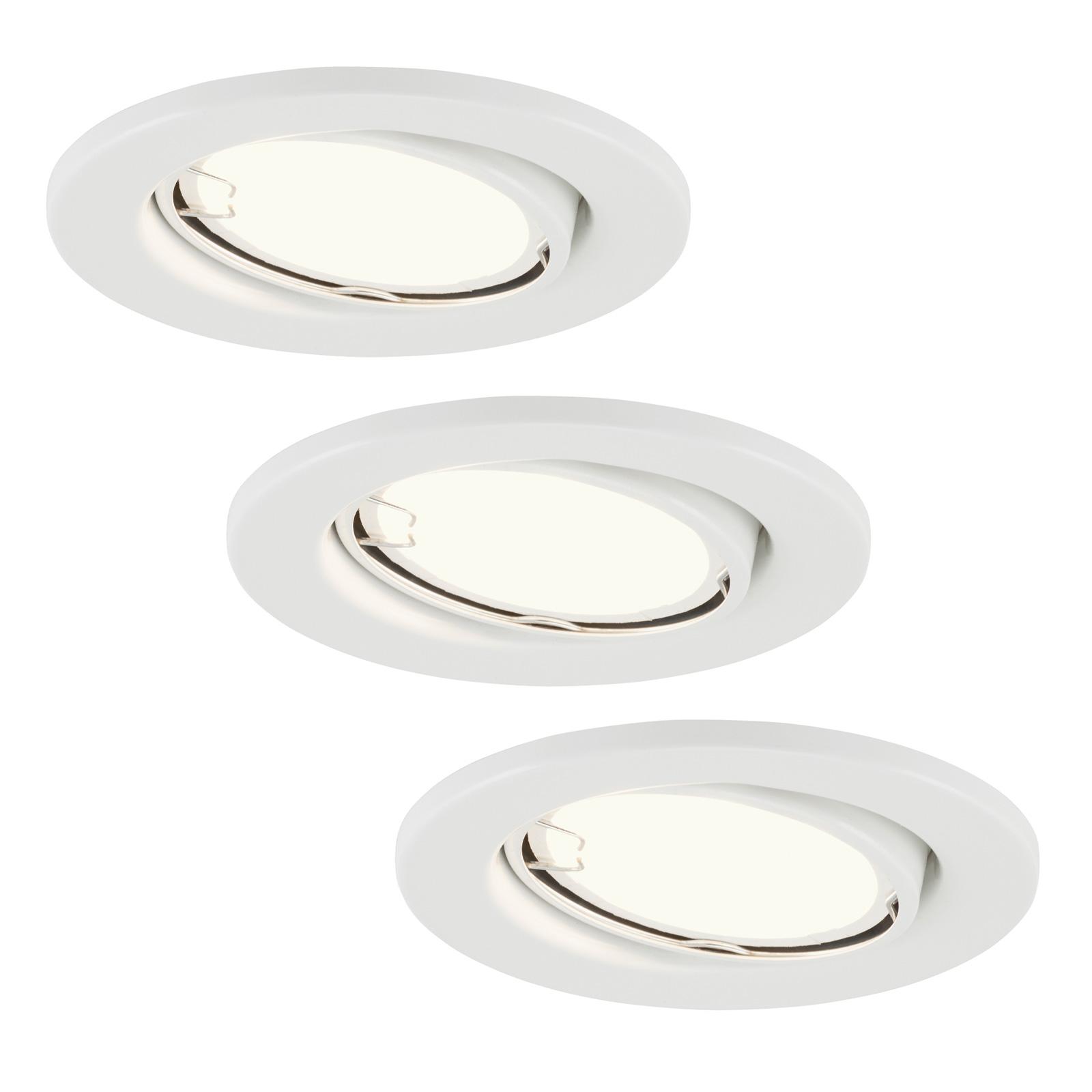 Spot LED incasso 7221-036 Fit set 3x bianco