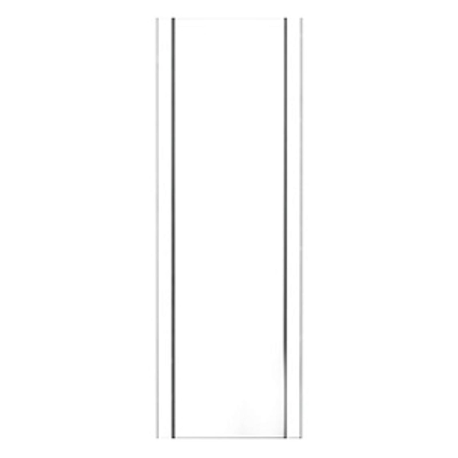 Velformet postkassestativ Stand 1001, hvit
