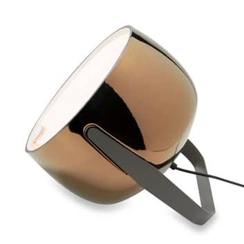 Karman Bag - lampe de sol en céramique, bronze
