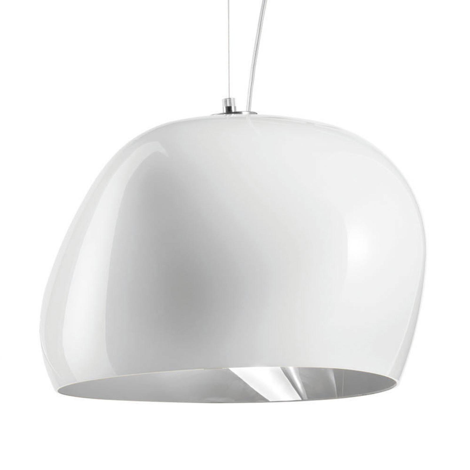 Hängeleuchte Surface Ø 40 cm, E27, weiß/stahlgrau