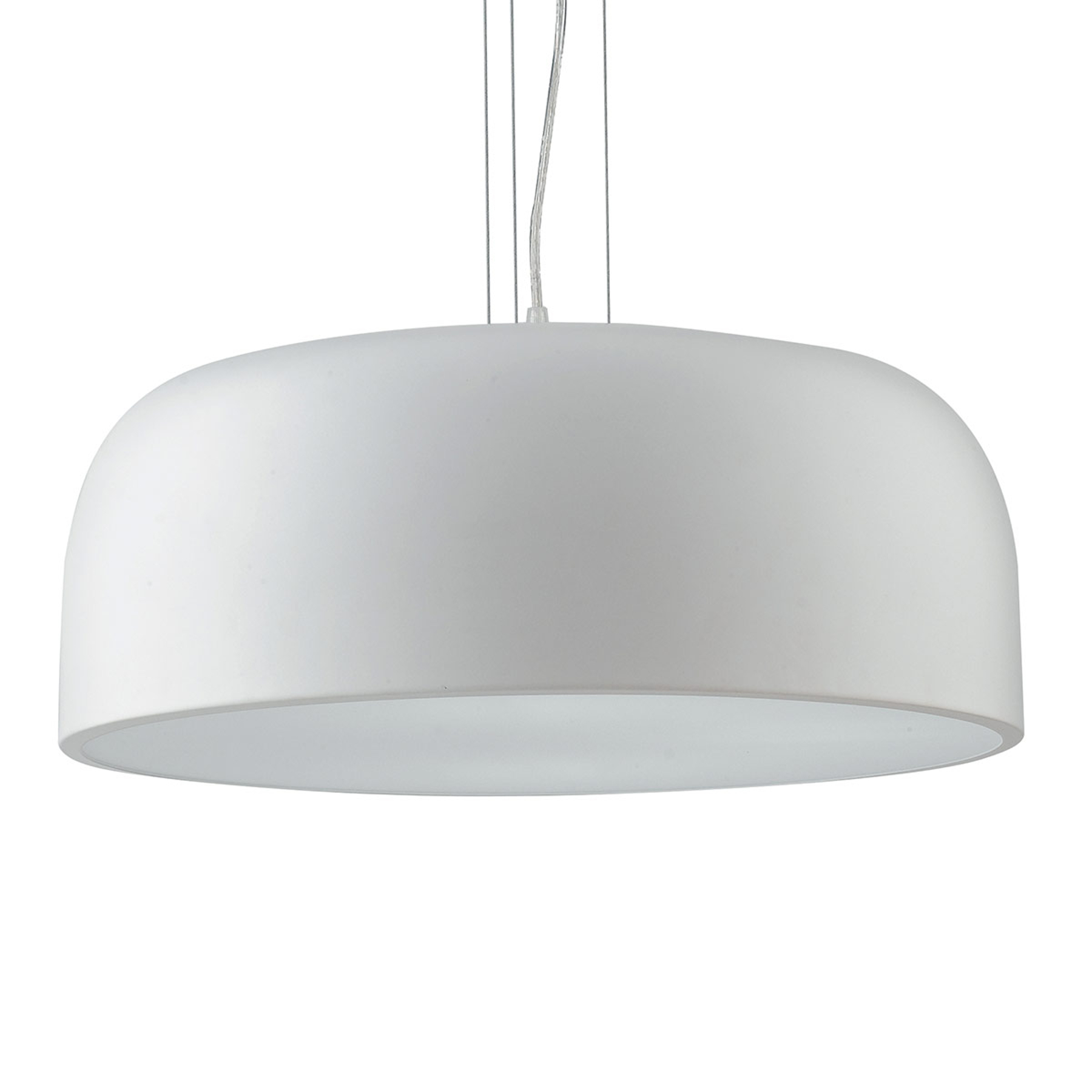Lampa wisząca Bistrot biała