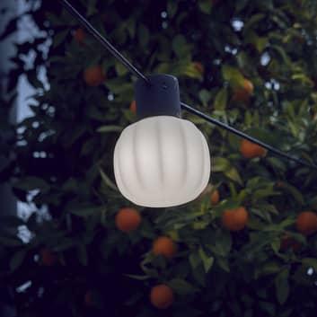 Martinelli Luce Kiki -ulkovaloketju, 3-lamppuinen