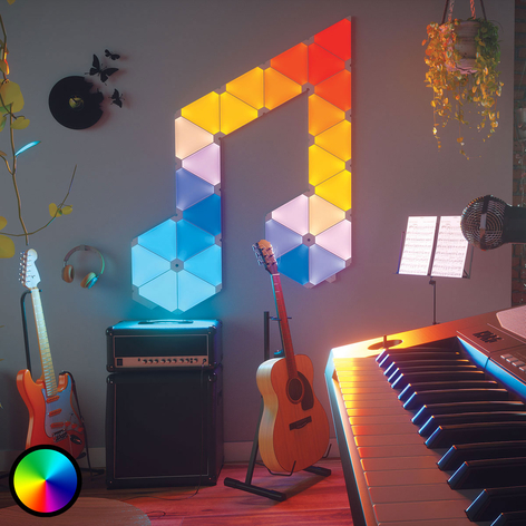 Nanoleaf Light Panels Rhythm Edition Panels 15er