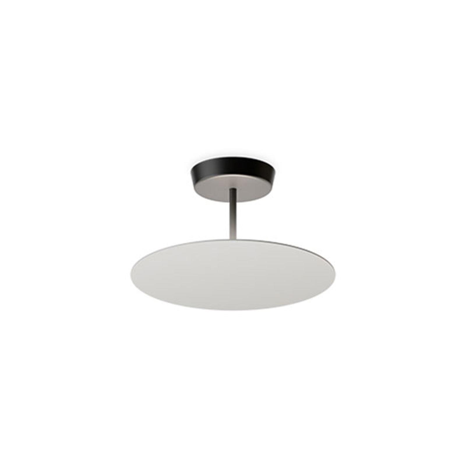 Vibia Flat LED-taklampe 1 lys, Ø 40cm grå L1