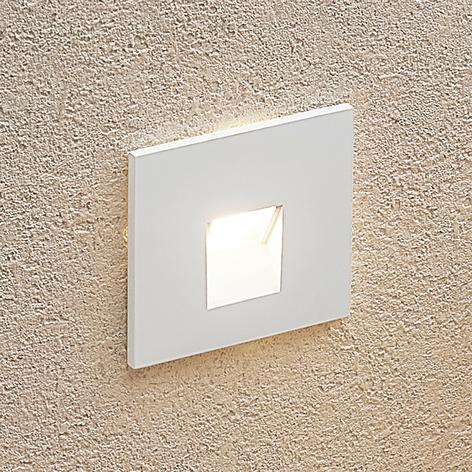 Arcchio Vexi LED-Einbaulampe, eckig, weiß