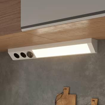 Arcchio Asira LED-Unterbaulampe, CCT, silber