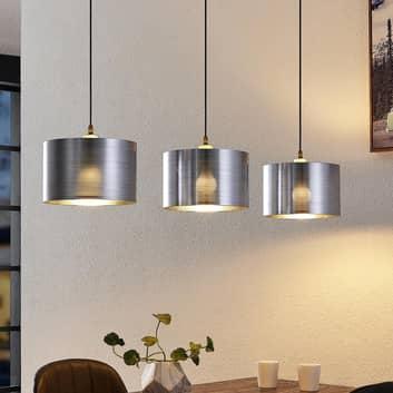 Lindby Dexin závěsné světlo nad jídelní stůl 3x