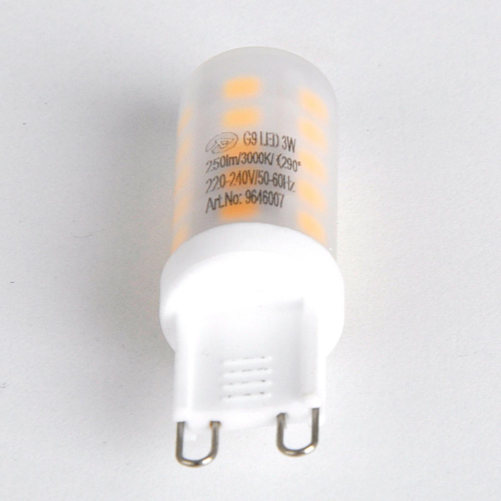 Bombilla de pines LED G9 3W 830 atenuable