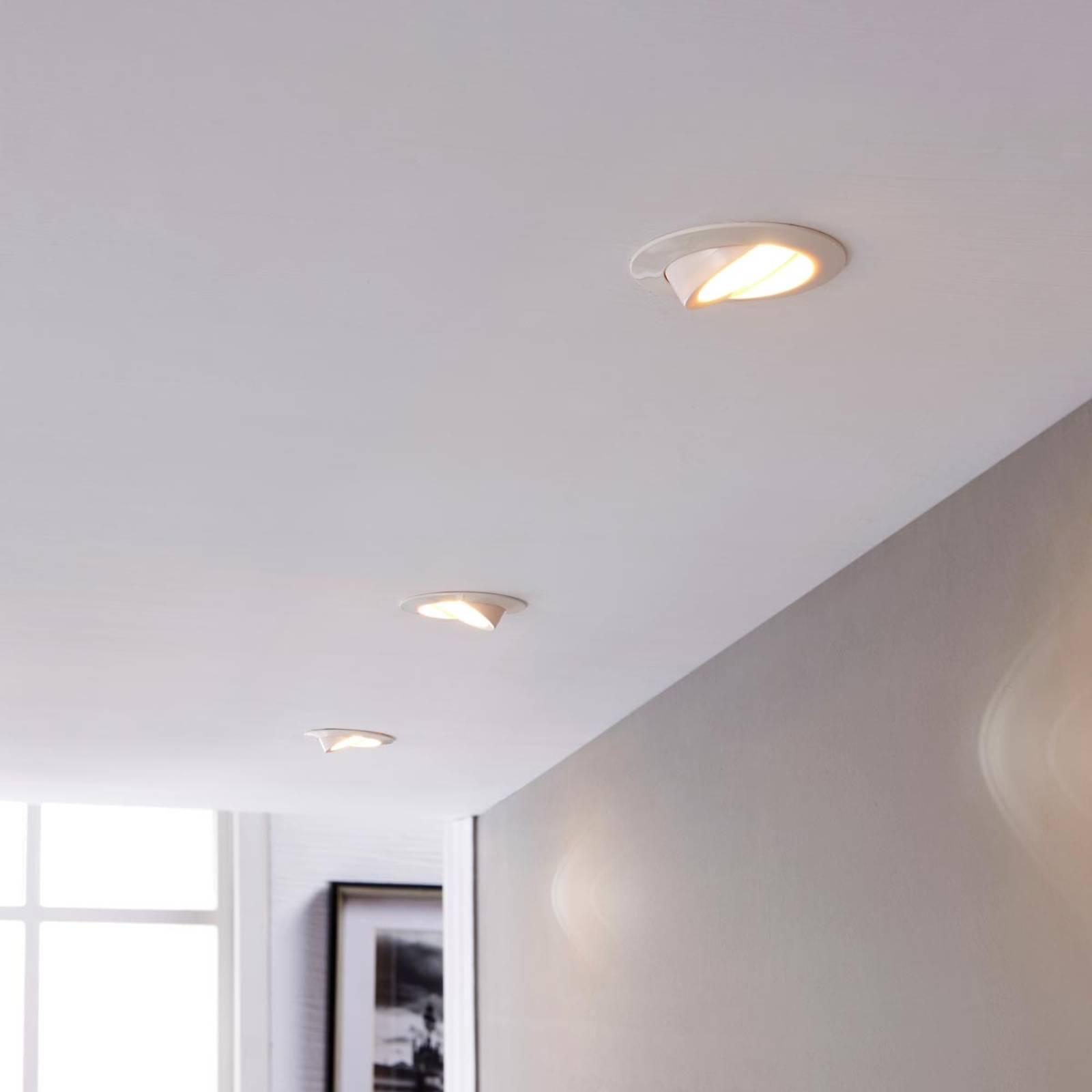 Reflektor wpuszczany LED Andrej okrągły, biały, 3