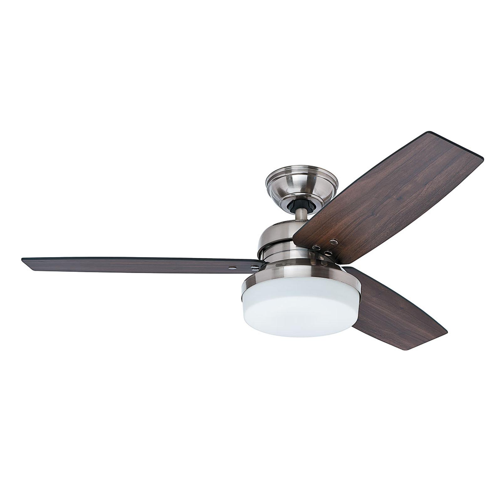 Hunter Galileo ventilateur éclairage, noyer/chêne
