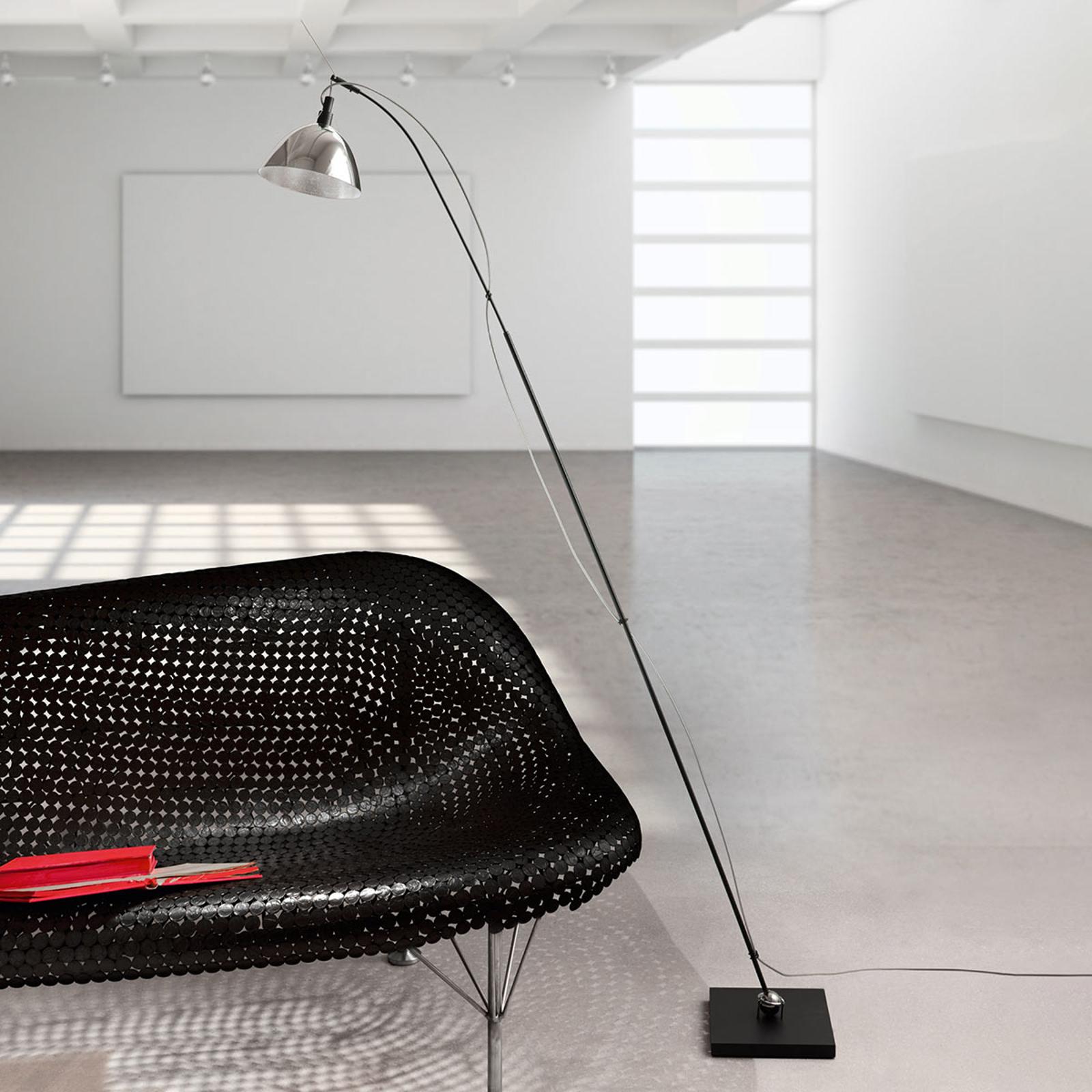 Ingo Maurer Max. Floor vloerlamp kap aluminium