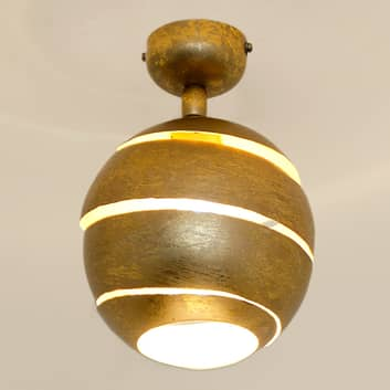 Drejbar loftlampe Suopare i guld