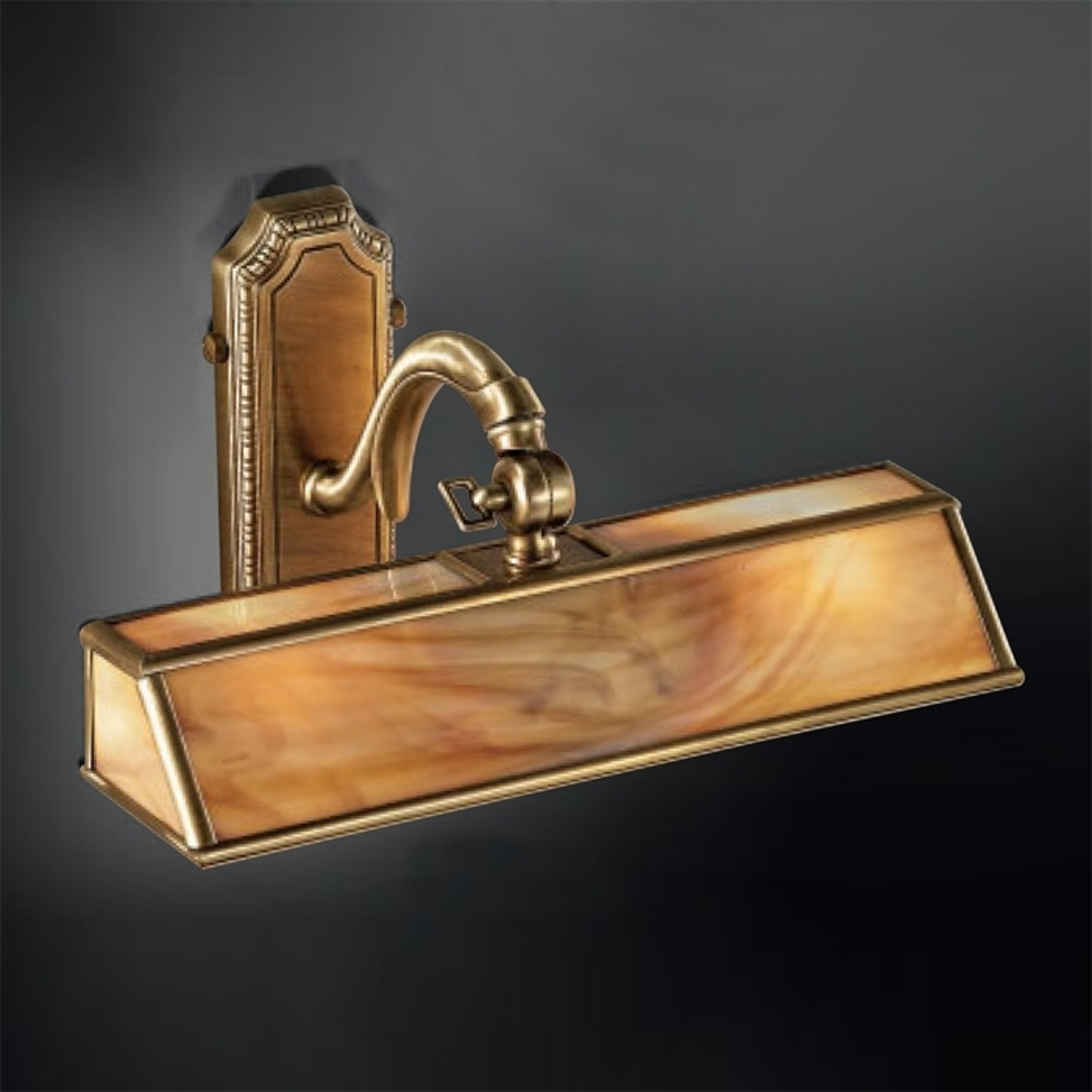 Klasické nástěnné světlo Antiko